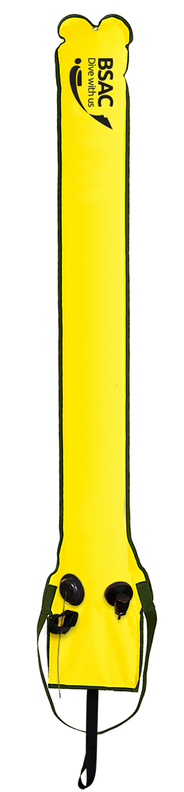 Picture of Surface Marker Buoy SMBCi Yellow (with Easifil adaptor)