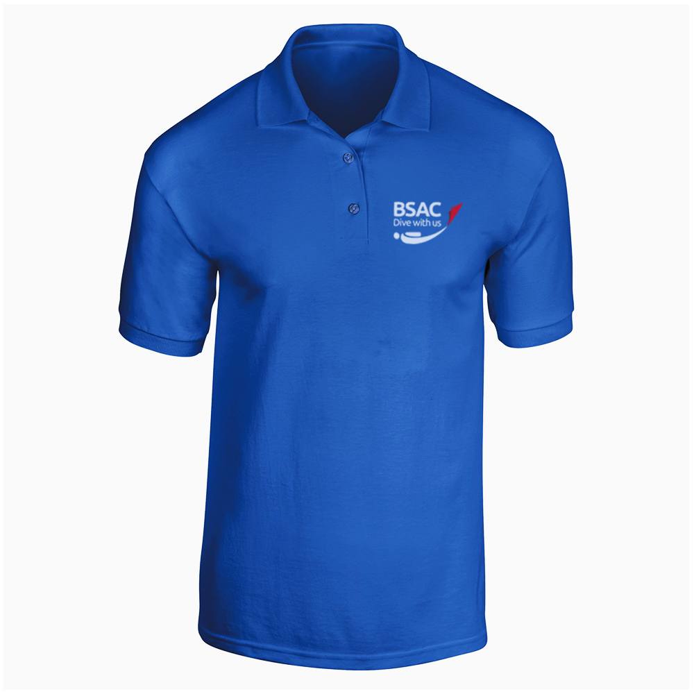 Picture of BSAC Polo Shirt - Blue