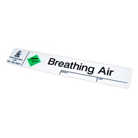 Picture of Breathing Air Cylinder Sticker