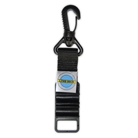 Picture of 2 Way Hose Clip (with swivel clip) - Black